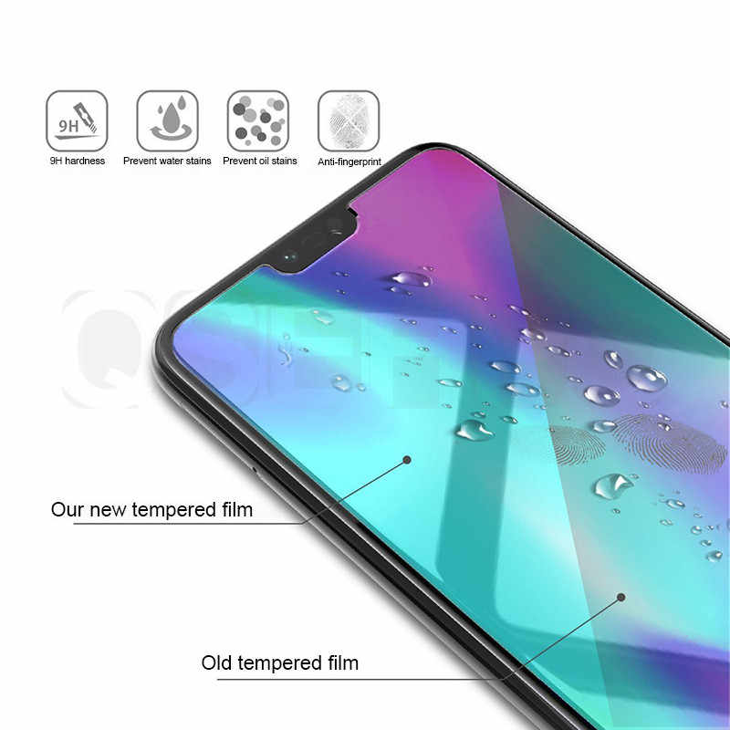 Tempered Glass For Huawei Y7 Y5 Y6 Prime 2018 Full Glue Screen Protector for Huawei Y6 Pro Y7 Y9 2019 Y7s Glass Protective Film