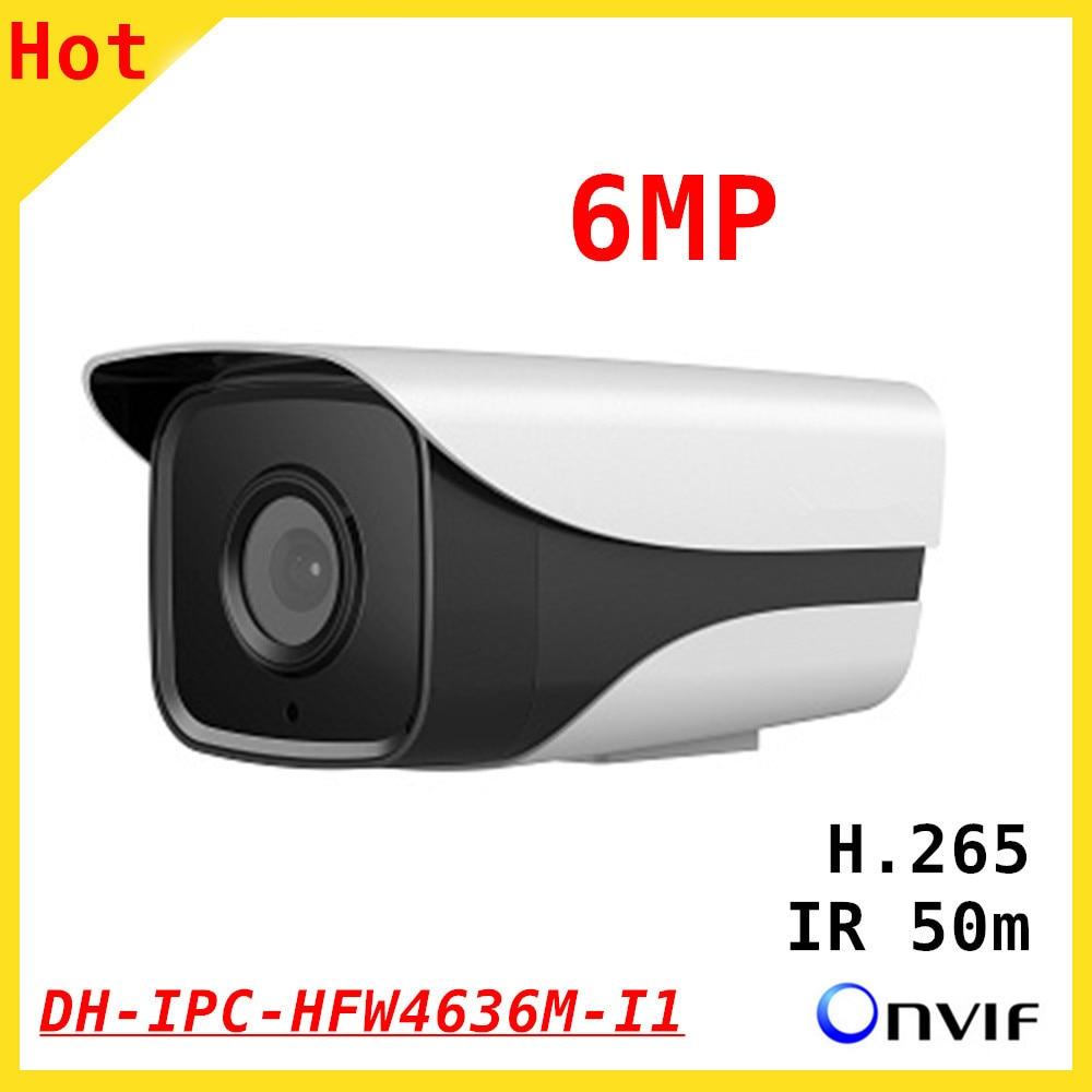 DH 6MP IP camera IPC-HFW4636M-I1 1080P 1/2.9 CMOS Waterproof CCTV Security camera Day Night ir cut night vision Security caneraDH 6MP IP camera IPC-HFW4636M-I1 1080P 1/2.9 CMOS Waterproof CCTV Security camera Day Night ir cut night vision Security canera