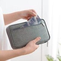Travel storage card package Passport Travel Wallet Passport Card Package ID Document Multi Card Storage Pack|Hanging Organizers| |  -
