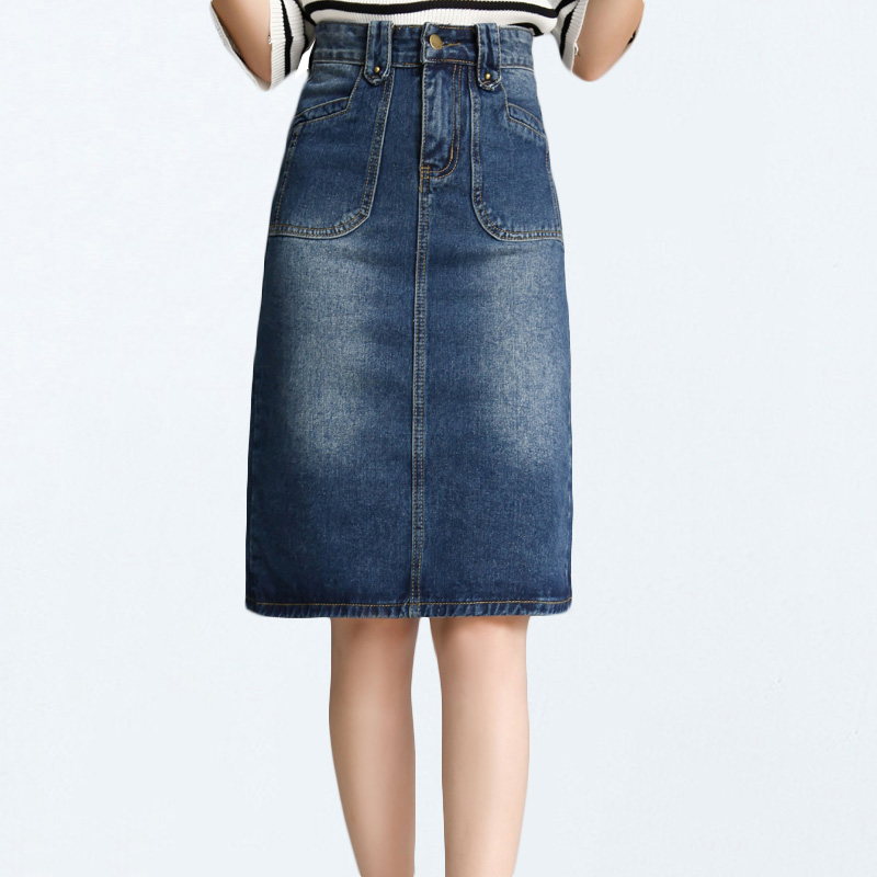 Online Get Cheap Jean Skirts Knee Length -Aliexpress.com | Alibaba ...