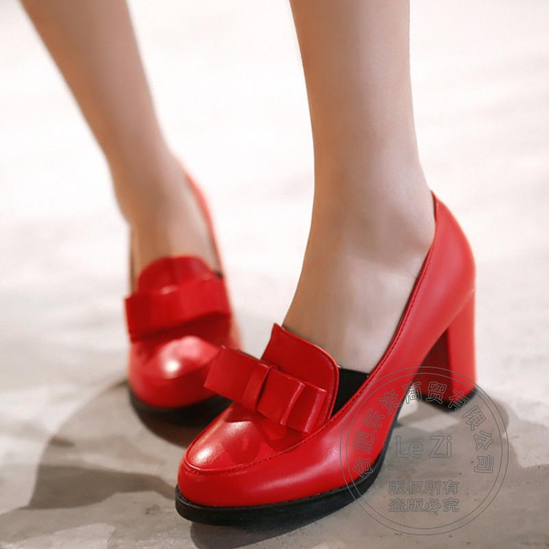 Classic Heel Cheap Literary Basic Most Popular High Quality Preppy Style Plateau Antiskid Prom Hot Selling