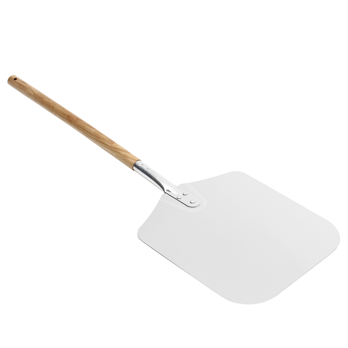 Aluminum Alloy 90cm Pizza Peels Spatula Paddle Wooden Handle Cake Baking Tools Bakeware Cheese Cutter Lifter Tool Pizza Shovel