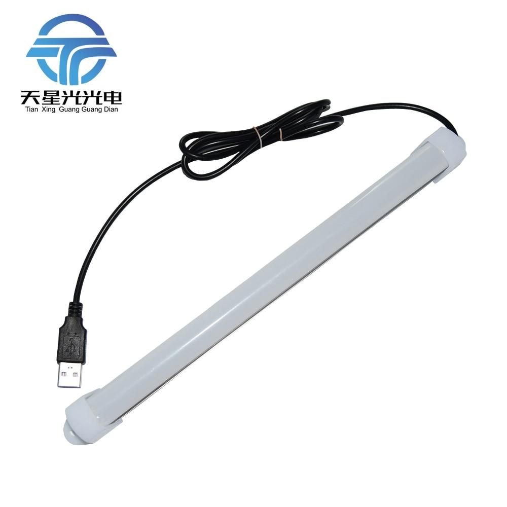 TXG TXG 2Pcs Portable USB 5630 DC5V 36LEDs 7W LED Bar lights Rigid Strip led tube light For Reading Camping Desk lamp miolla txg 871