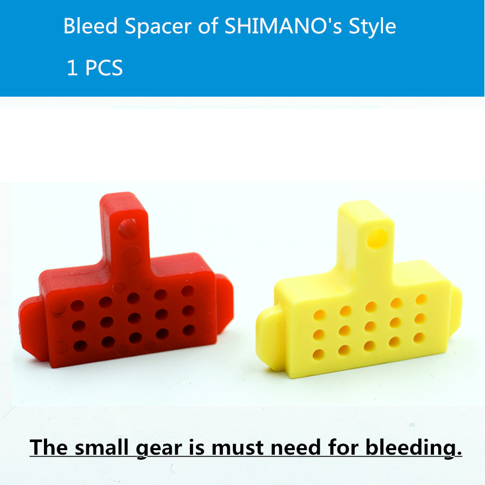 Hydraulic Disc Brake Bleed Spacer, for shimano, tektro brake system, Bleed Tool, 1 PCS. Red Color