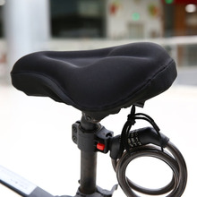Mtb bicicleta de estrada 3d silicone gel almofada da bicicleta macio grosso sela cobre ciclismo ciclo assento almofada almofada almofada almofada acessórios