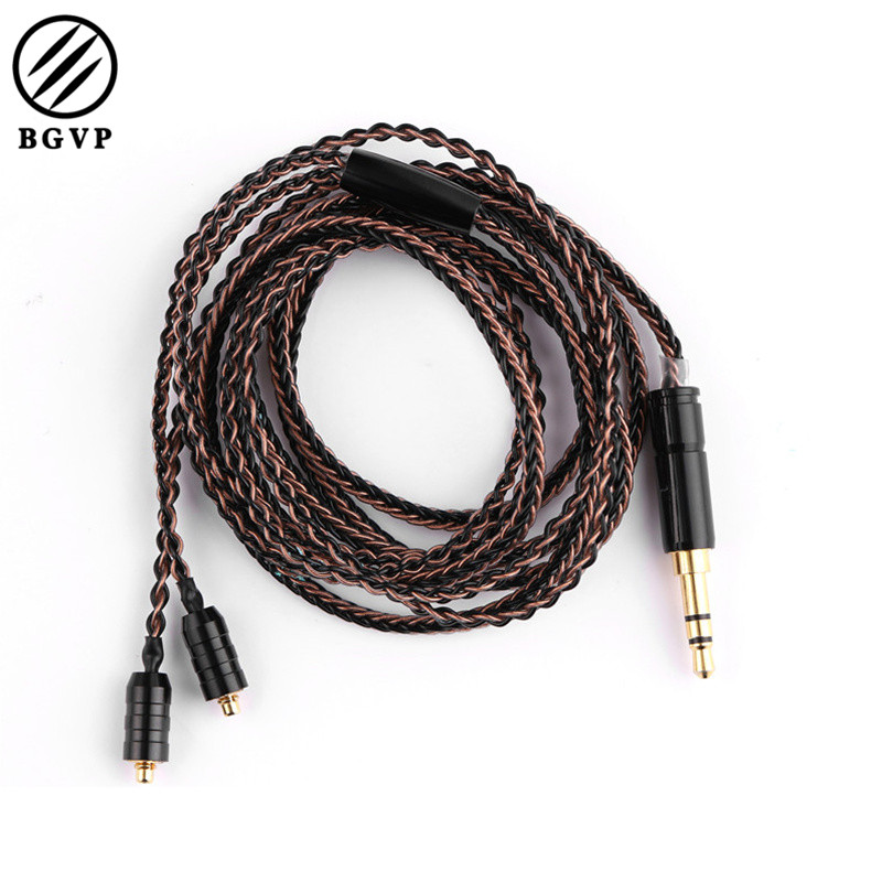 BGVP DX3 2.5mm/ 3.5mm OCC 8 Strands Mixed Braided Headphone Cable MMCX 3 Frequency HIFI Earpone Cable with Mic/ no Mic электрический котёл protherm скат 6k 6 квт 0010008951
