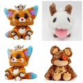 Plush LOL Gnar Plush dolls World Championship lol The Missing Link 1:1 Soft Stuffed Annie's Bear PORO  Toy Birthday gift