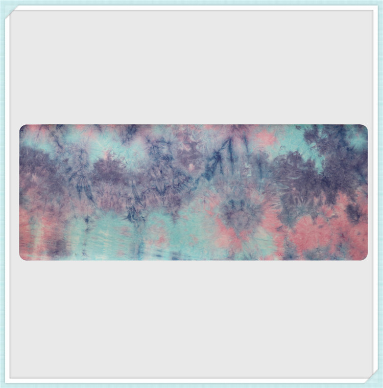 Hand-dyed Natural Suede TPE Yoga Mat Widened Anti-Slip Sweat Pilates Comfortable High Quality Fitness Pad 7