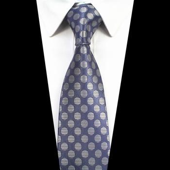 RBOCOTT męskie 7cm krawat w paski i Dot wzorzyste krawaty klasyczne krawaty dla mężczyzn akcesoria ślubne Party krawaty tanie i dobre opinie SILK Moda Dla dorosłych Szyi krawat Jeden rozmiar Green Red Striped Dot Geometric 145cm*7cm*3 5cm Classic Fashion Neck Tie