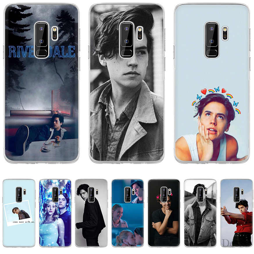 Phone Case American TV Riverdale Series Cole Sprouse For Samsung Galaxy J3 J5 J7 2016 2017 A5 A6 A8 Plus 2018 Note 8 9