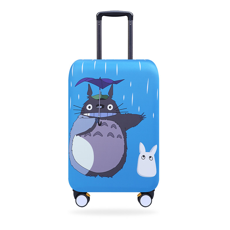 Elastic Luggage Covers Mala Dustproof lavável Protector MEU VIZINHO TOTORO Design 20/21/22/24/26/28/29/30/32 '