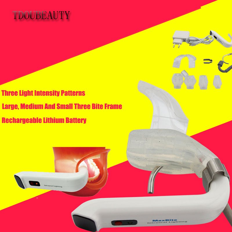 2018TDOUBEAUTY Dental Oral Lighting LED Oral Lamp Support Oral Lamp With Weak Absorb Headlamp Oral Endoscope Light Free Shipping tdoubeauty m 95 x ray film reader is dentist gift dental oral endoscopes free shipping