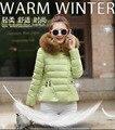 Barato al por mayor 2017 nueva venta Caliente Del Otoño Invierno moda mujer casual yardas grandes párrafo corto joker chaqueta de invierno pesados