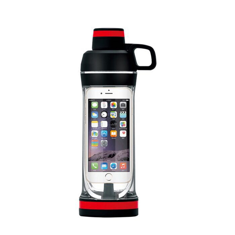 Sports Bottle Phone Case: Storager My Water Bottle For Iphone Mobile Phone 400ML