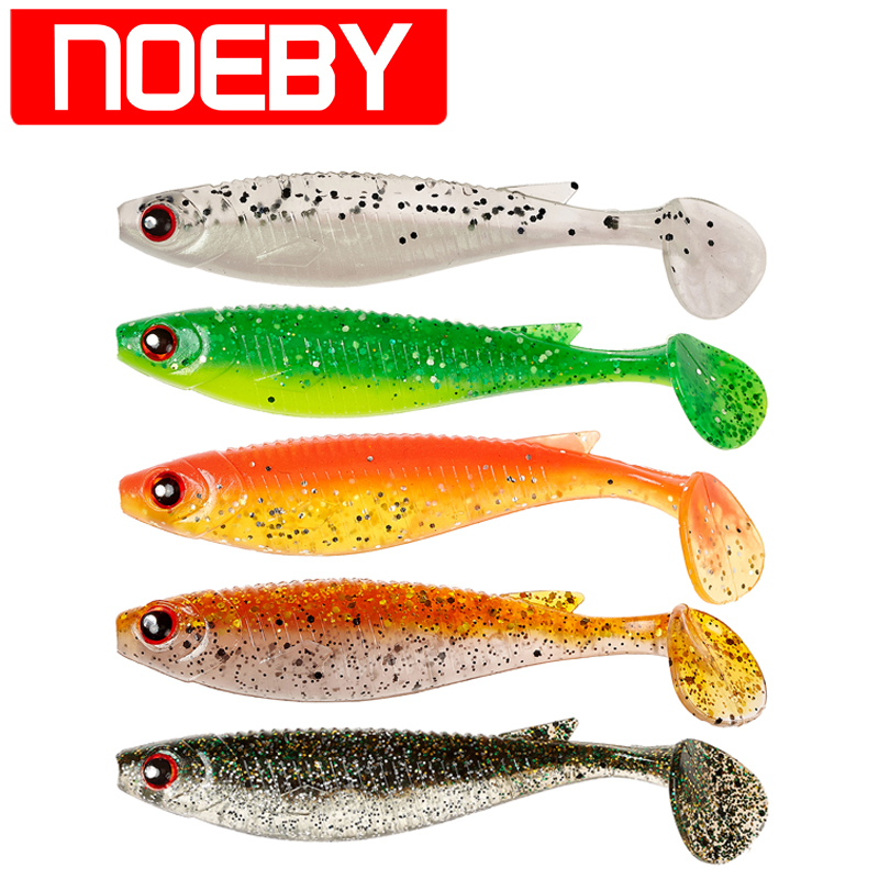 NOEBY S5485 4Pcs 10cm/8g Soft Bait Carp Fish Fishing Lure Leurre Souple Peche Para Pesca Fishing Lures Wobbler Fishing Tackle noeby nbl9062 fishing lures 66g 140mm pencil sinking leurre peche mer brochet hard fishing bait