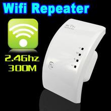 2016 New Hot Sale 300Mbps Wifi Repeater Wireless-N AP Range Signal Extender 802.11N Booster white Amplifier wlan UK/US/EU/AU