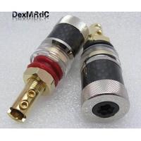 1pcs Copper Banana connector high quality Banana plug sockets Binding Post