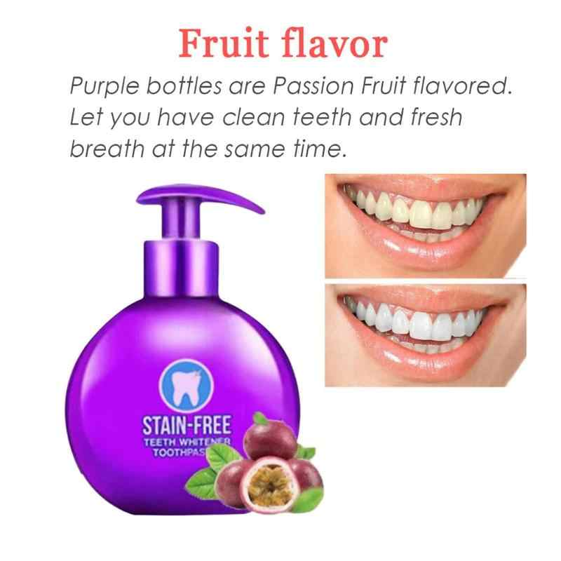 Baking Soda Whitening Toothpaste Intensive Stain Removal Whitening Toothpaste Fight Bleeding Gums for Brushing Teeth Oral Care