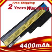 5200MaH Laptop Battery For Lenovo 3000 IdeaPad G430 G450 G530 G550 N500 Z360 B460 B550 V460