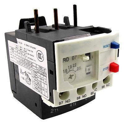 цена на 1.6-2.5A Thermal Overload Relay Motor Protector 3P 3 Pole
