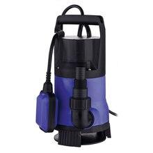 750 Вт 135000L/ч Пластик водяной насос погружной черного и синего цвета