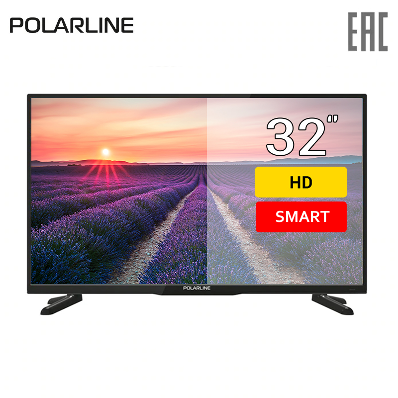 Фото - TV 32 PolarLine 32PL52TC-SM HD SmatTV 3239inchTV dvb dvb-t dvb-t2 digital chunghop universal learning remote control controller l309 for tv sat dvd cbl dvb t aux big key large buttons copy