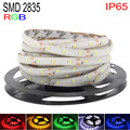 DC 12V RGB LED Strip Waterproof 2835 5M 300LED Fita LED Light Flexible Neon Lights Bande LED Tape Ledstrip For Home Decoration