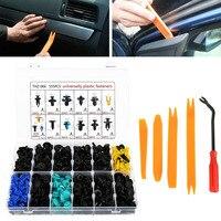 For Car Interior Fastening 555pcs Car Door Panel Retainer Rivet Liner Auto Fasteners Plastic Vehicle Bumper Clips Set Mayitr