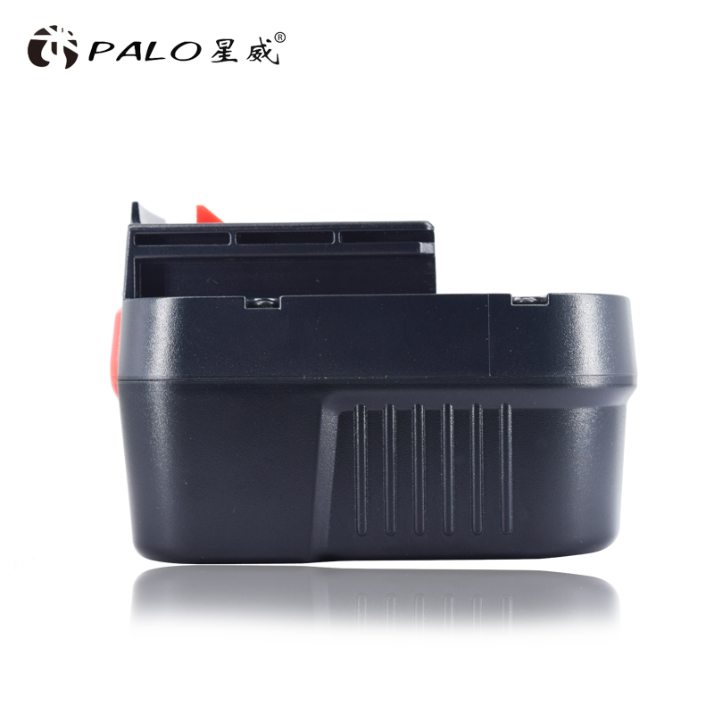 PALO High Quality 12V 3000mAh Rechargeable Battery Pack for Black Decker Drill A12 A12EX FSB12 A1712 HP12K HP12KD Ni-MH Bateria