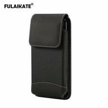 FULAIKATE sac de téléphone universel en tissu mat pour Xiaomi MI Max2 pochette de taille pour Huawei Honor 8X Max poche de Sport daffaires pour Note9