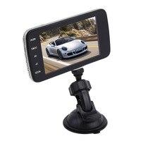 Voiture-Style Full HD 1080 P 4.0 Pouce Voiture DVR Caméra Rétroviseur Numérique Vidéo Enregistreur Double Lentille Greffier caméscope Chaude