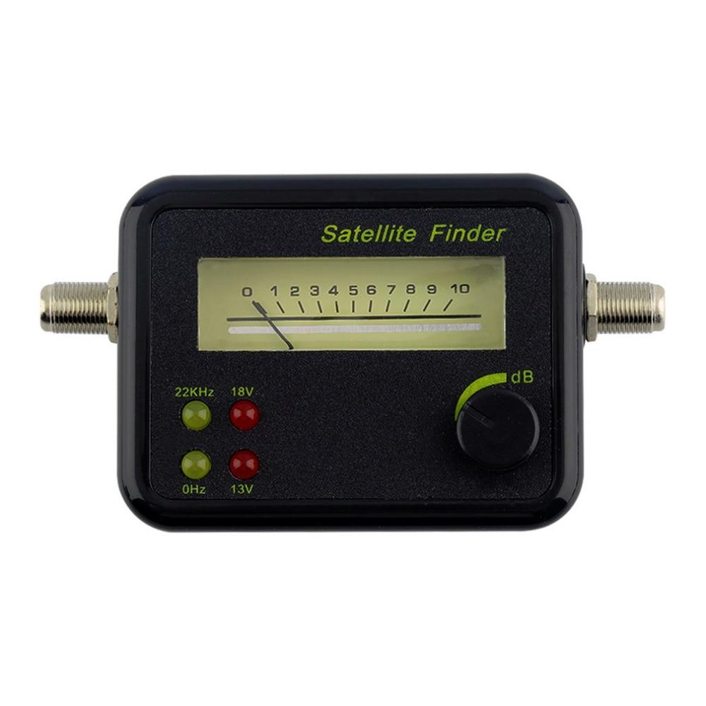 imágenes para Caliente Mini LCD Digital Display Satélites del Buscador de Satélite Señal Buscador de Medidor Tester Worldwide