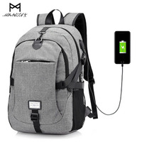 New Anti Theft Backpack Multifunction USB Charging Backpack College Student School Backpack Bags For Teenagers Laptop
