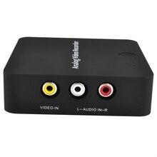 Ezcap272 VHS для цифрового преобразователя AV видео рекордер устройство для Hi8 VCR DVD DVR лента для видеокамеры медиа аналоговый файл дигитайзер