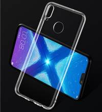 Soft Silicone TPU Case For Huawei Nova 2 2s 2i 3 3i 3e Lite Plus Transparent Cover Cases For Huawei Y5 Y6 Y7 Y9 2018 2019 Psmart(China)