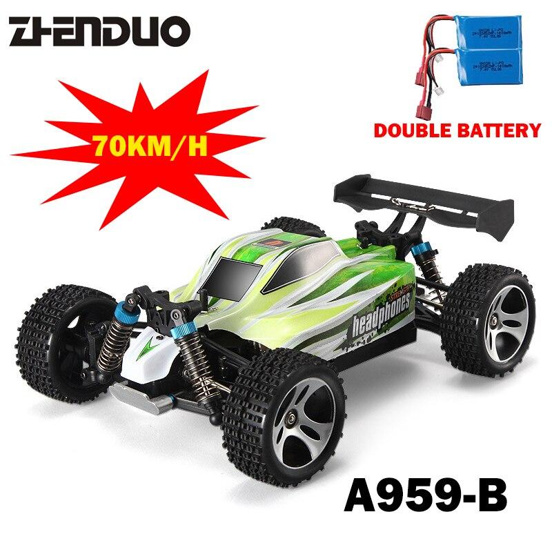 1:18 Двойной аккумулятор 4WD A959 Обновление версии a959-b RC автомобиль Радио Управление игрушки