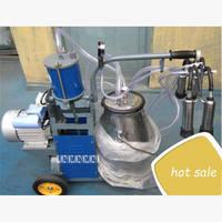 High Quality Movable Plug Cow Milker 550W Single Bucket Type Portable Piston Sheep Goat Milking Machine High Output 220V/110V