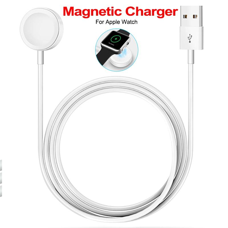 Onbaatzuchtig 2019 Snelle Draadloze Oplader Voor Apple Horloge 1/2/3/4 Usb Snel Opladen Magnetische Oplaadkabel Voor Apple Horloge Charger Adapter
