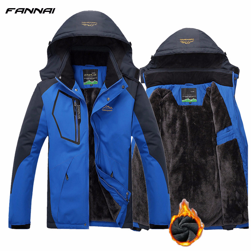 Coats Tracksuit Jacket Parka Korean Winter Windproof Camping Man 5XL Solid Female Thick