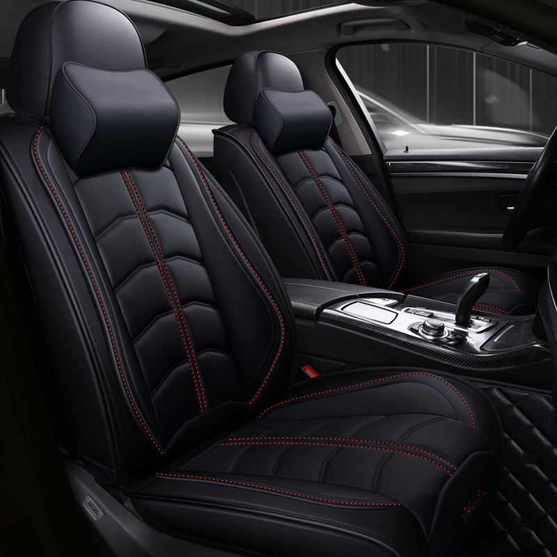 Full Set Luxury Leatherette Car Seat Covers For Nissan Qashqai