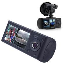 "Car DVR Camera Dual Lens 2.7"" Vehicle Car DVR Dash Cam Video Recorder 140 Degrees G-Sensor GPS Universal for All Cars(China)"