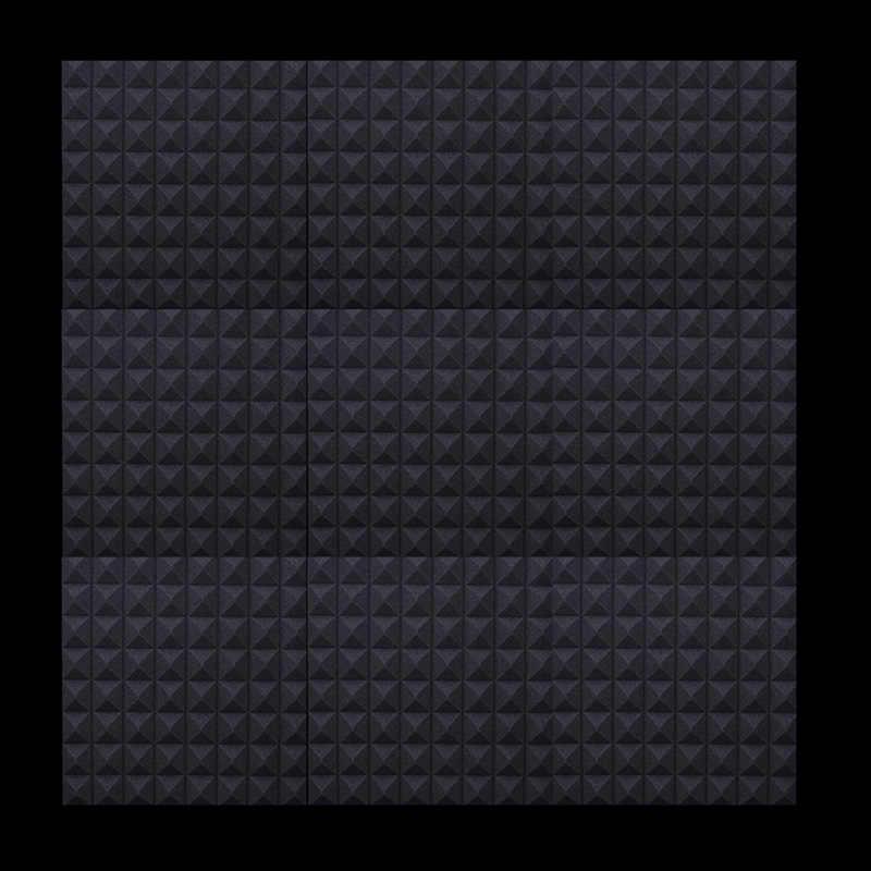 5 stücke 50x50x5cm Schallschutz Schaum Studio Akustische Sound Behandlung Absorption Keil Fliesen Bar KTV Wand lärm Isolierung Schwamm
