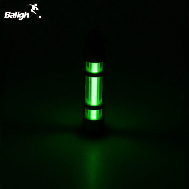 Automatic Light 25 Years Titanium Tritium Alloy Keychain Fluorescent Tube Lifesaving Emergency Alloy Lights 500UL