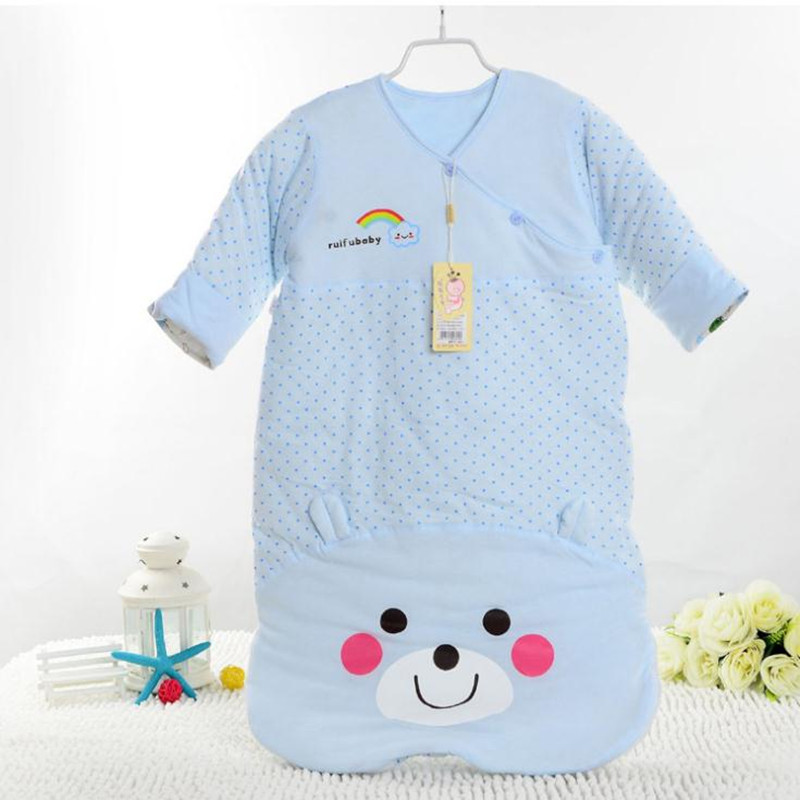 Newborn Baby Sleeping Bag Blue And Pink Baby Sleep Sack Envelope Newborn Winter Baby Sleeping Sack