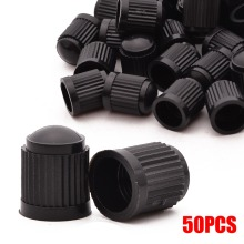 цена 50pcs/lot Plastic Car Motorcycle Truck Wheel Tire Valve Stem Cap Dust Cover Lid Black Tyre Air Wheel Valve Stem Caps онлайн в 2017 году