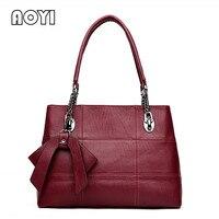 AOYI Lady Top Handle Bags Women Handbag Famous Brand Popular Big Shoulder Bag Female Leather Messenger