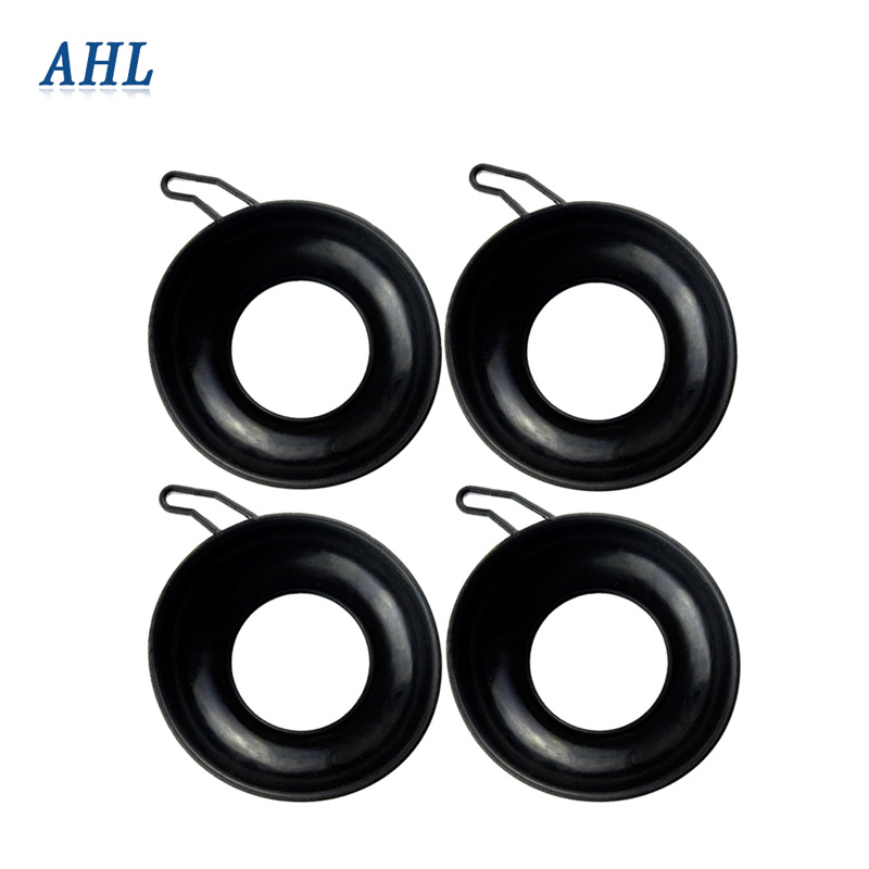 AHL 4pcs Motorcyclce Carburetor Parts Diaphragm For Honda CB400 CBR400 VTEC I II III ( 1 2 <font><b>3</b></font> ) CBR23 CBR29 image