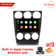 "Andream 9 ""Android 8.1 carplay Octa 8 Core car dvd-speler voor Mazda 6 2002-2008 2G + 32G ROM GPS Navigatie Head Unit Stereo Radio(China)"