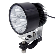 Universal Motorcycle LED Headlight Motorbike Auxiliary Work Lights White Light 12V 20W 6500k Led Motor Bicycle Fog Lamp Headlamp