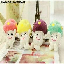 Doll Mushroom-Doll Plush-Toys Stuffed Small Gift FOR GIRL 12CM 1PCS Hanging-Pendant Wedding